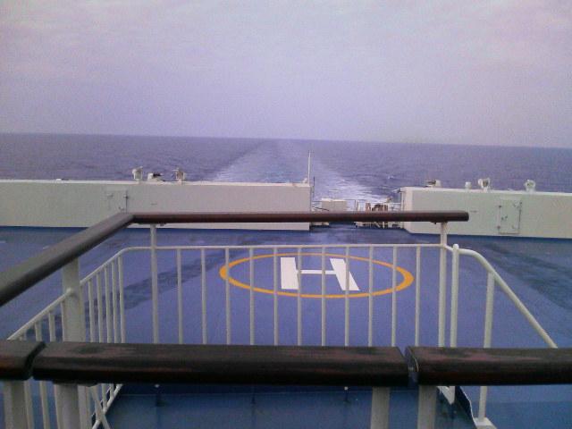 順調に航行中です!