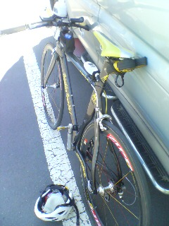バイク終了です。