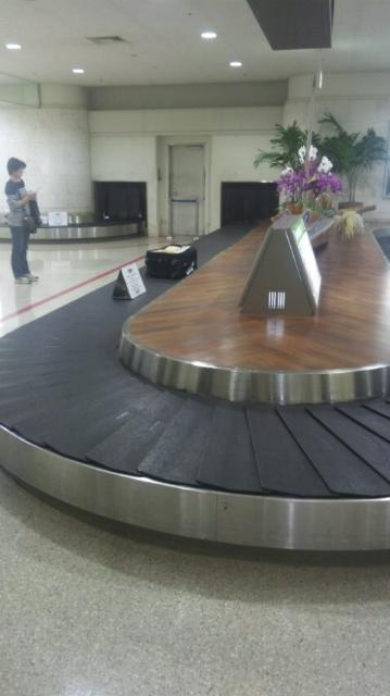 沖縄到着しました。